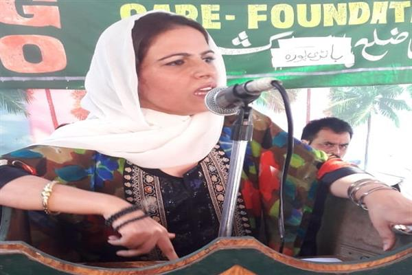 Safina Beig stresses upon unity between Shia, Sunni Muslims