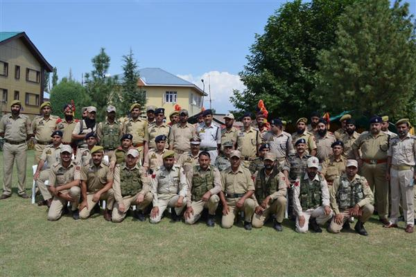 DGP visits South Kashmir districts