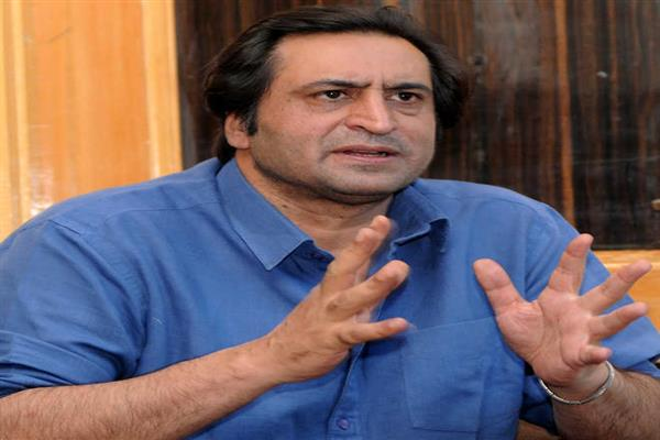 Sajad slams Mehbooba for calling municipal election contestants as rogues