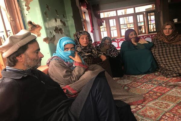 Yasin Malik visits Chowkibal Kupwara, Aripal Tral, Pampore in last two days