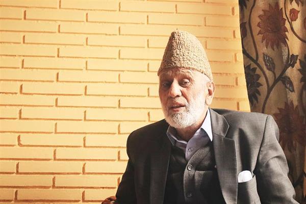 Sehrai grieved over demise of Geelani's son-in-law