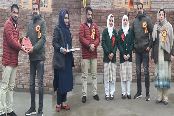 Inam attends Children's Day function at LP High School