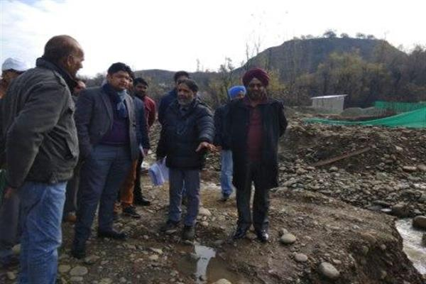 Work on 6 bridges worth Rs 39.46 crores underway in Baramulla under JTFRP