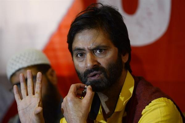 On JRL's call, JKLF protests against killings in Kashmir