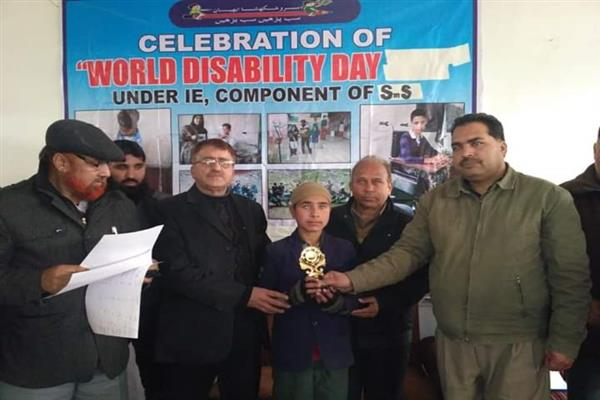 On Int'l disability day, CEO organizes programme in Anantnag
