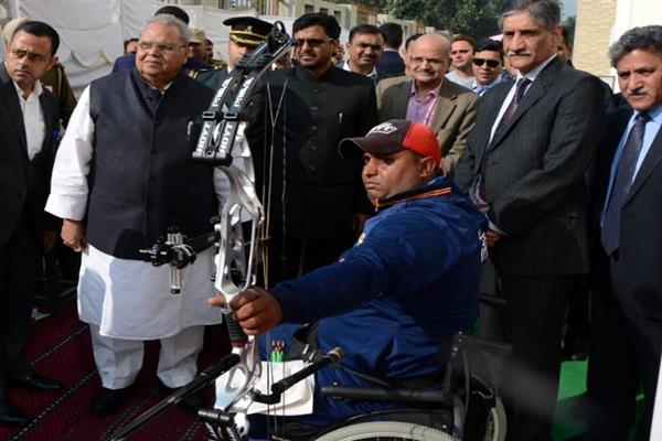Governor announces 'JK Govt Scholarship Scheme for Differently Abled Students'