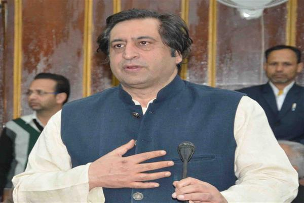 Sajad Lone welcomes announcement of re-examining SAC decision on J&K Bank