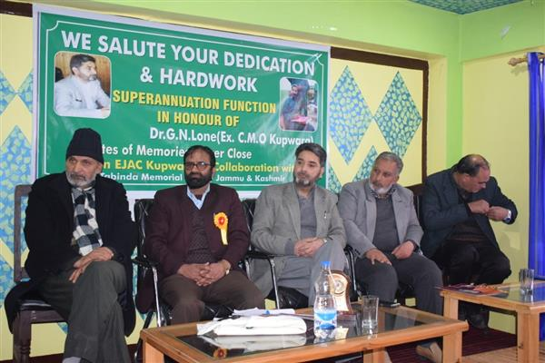 EX-CMO Kupwara, other retired officials given a warm send off