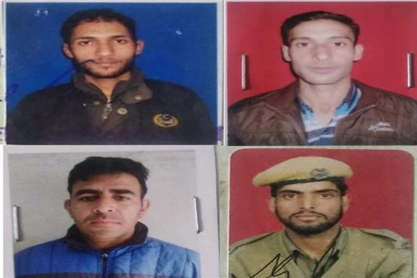 Four cops killed in Shopian militant attack