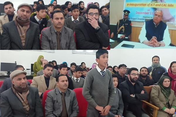 Class 10 student of BHSS Zadibal invites Governor to visit school