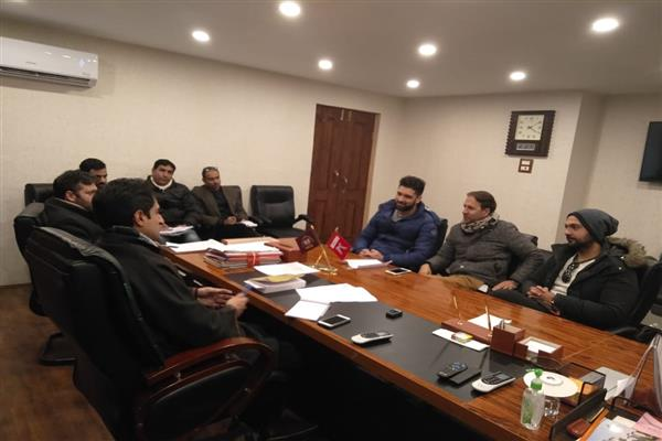 PHD Youth Wing meet Mayor, Dy Mayor