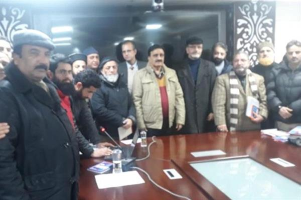 JKJCCPS meets officers at I&C Deptt