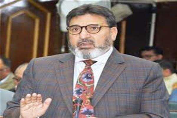 Altaf Bukhari condemns civilian killings in Pulwama