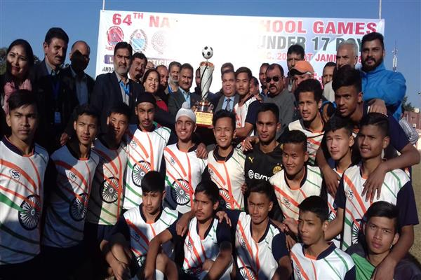 64th NSG Football National: Chandigarh Lifts Trophy