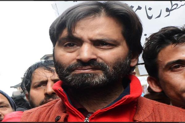 Malik goes into hiding to lead march on Monday: JKLF