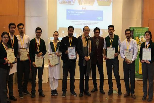 DPS Srinagar wins film-making competition at International Young Film Makers Festival