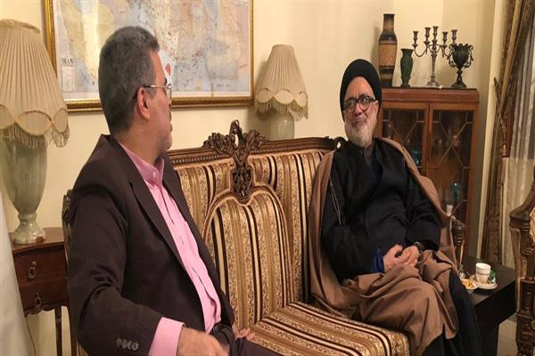 Aga Hassan calls on Iran's envoy in Delhi, discusses issues concerning Muslims