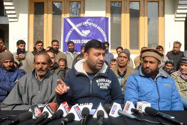 Kashmir PHE Joint Employees association to launch valley-wide agitation from Jan 07