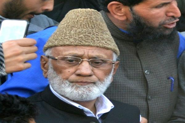 Sehrai welcomes release of Mushtaq-ul-Islam