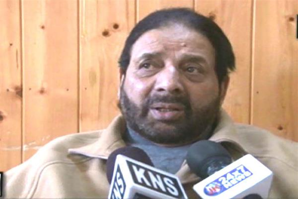 Political uncertainty, bloodshed in valley outcome of broken promises: Hakeem Yaseen