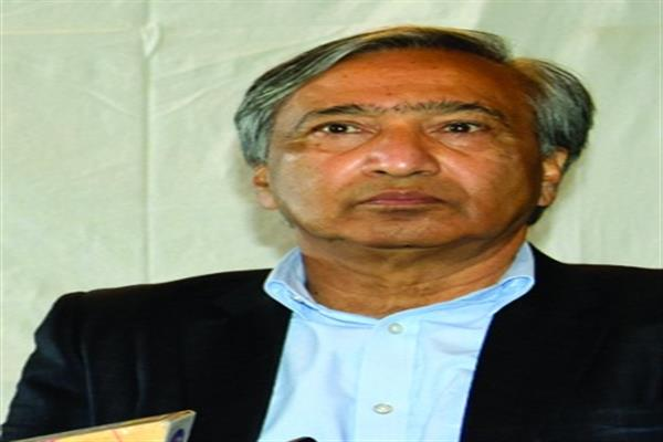 Tarigami condoles demise of trade union leader Abdul Salam Rajpori