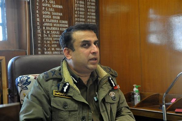 IGP Kashmir orders promotion of 1150 constables
