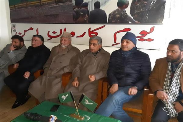 PDP welcomes Congress leader Abdul Gani Naseem into party fold