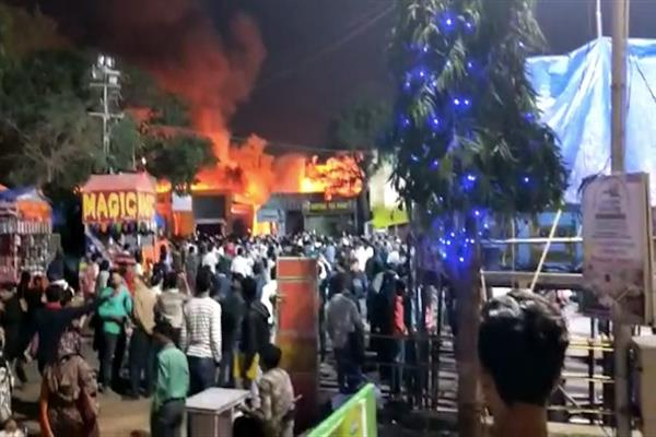 KCCI expresses grief over Hyderabad Numaish exhibition fire incident