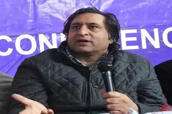 Sajad Lone demands rotational divisional headquarters between Leh, Kargil