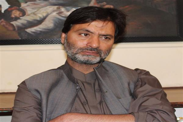 Yasin Malik condemns 2nd slapping of PSA on JKLF leader