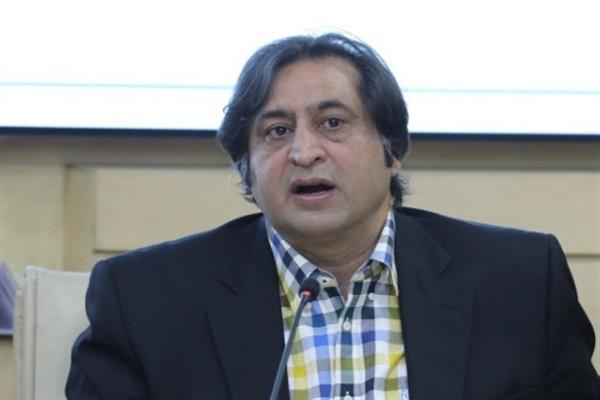 In Jammu, Sajad Lone talks tough, says intimidation of Kashmiris unacceptable