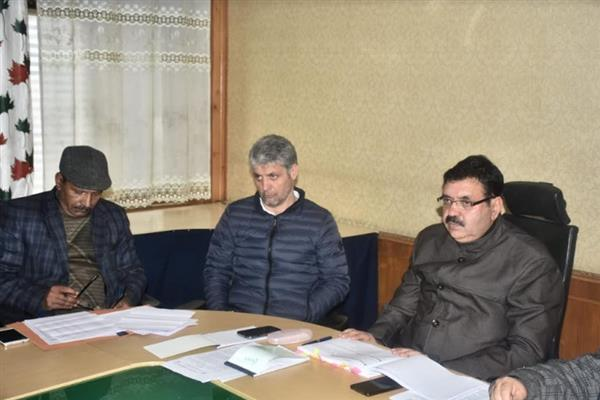 Commissioner SMC reviews finance, accounts, civil works