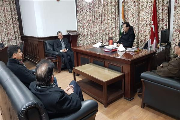 KCCI delegation meets Div Com, discuss issues about prevailing situation in State