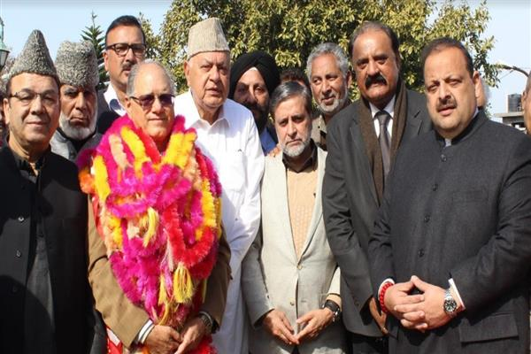 Restoring peace, upholding dignity of people our priority: Dr Farooq Abdullah