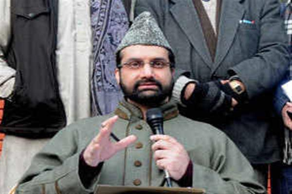Mirwaiz thanks people especially Khalsa Aid for helping Kashmiris