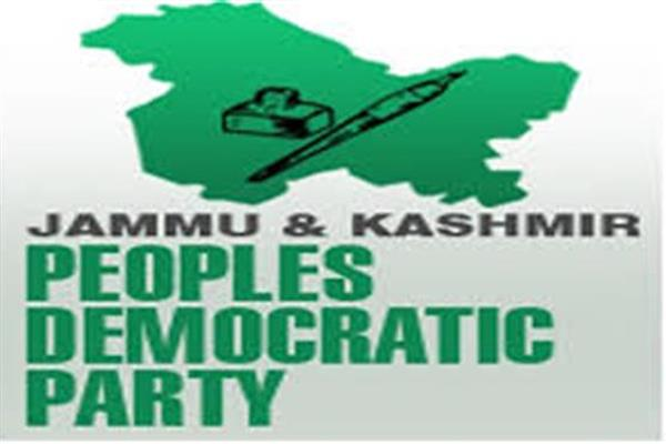 PDP asks Govt. whether present situation is prelude to war against Kashmir and its people