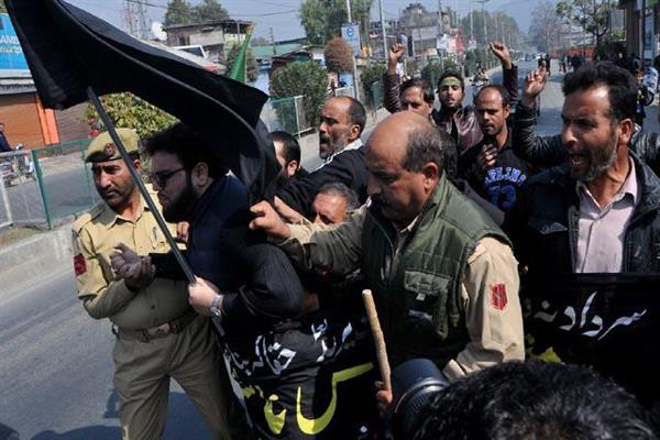 Muharram procession bans: J&K Anjuman Sharie Shian questions Govt's double standards