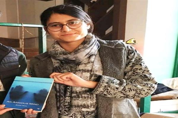 Civil Engineering student Sadaf Wani releases her first book