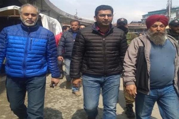 Dr Shahid Iqbal inspects major projects in Srinagar City
