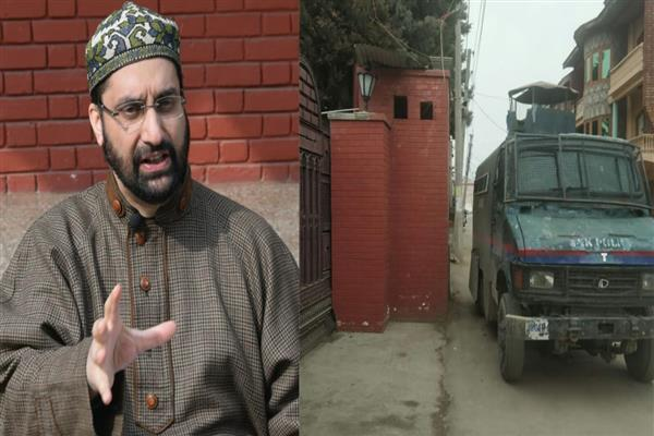 Ahead of JRL protest, Mirwaiz placed under house arrest