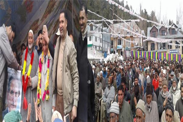 Our aim is to fulfill aspirations of people: G H Mir