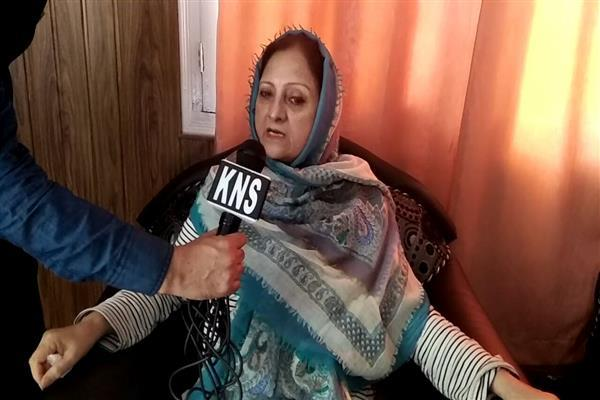 No buyers for Mehbooba Mufti's crocodile tears: Shameema Firdous
