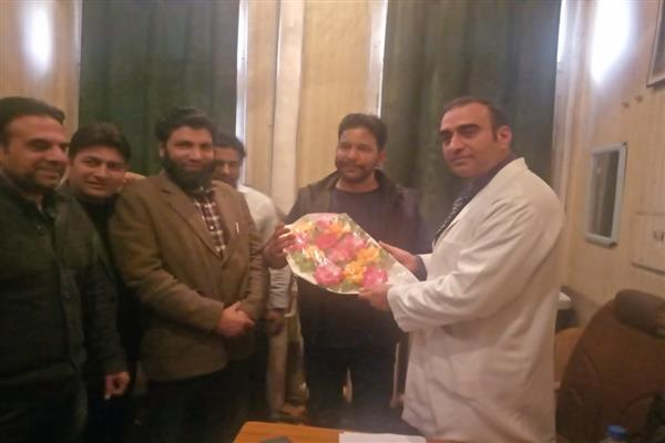 DAK felicitates newly inducted office bearers