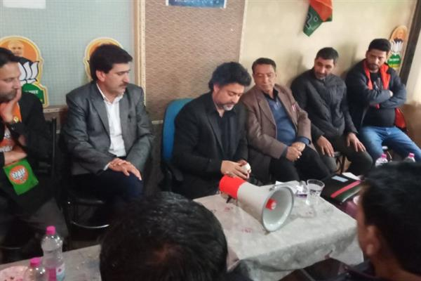 NC, PDP have befooled Kashmiri people from five decades for power: Khalid Jahangir
