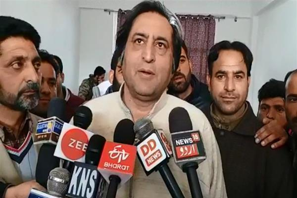 NC always betrayed people of JK: Sajad Lone