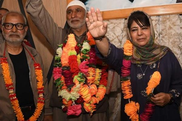 Congress's Ganderbal District President joins PDP