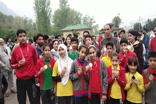 HTPS organises cross country, 300 students from Grade 3 to Grade 10 take part