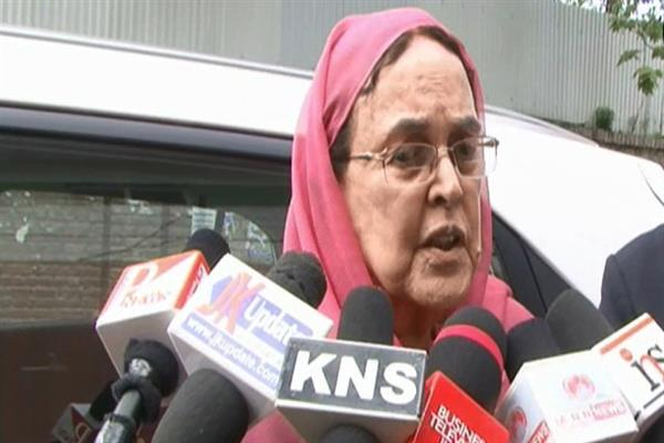 Whatever Sher-e-Kashmir had achieved, we are losing it in small issues: Khalida Shah