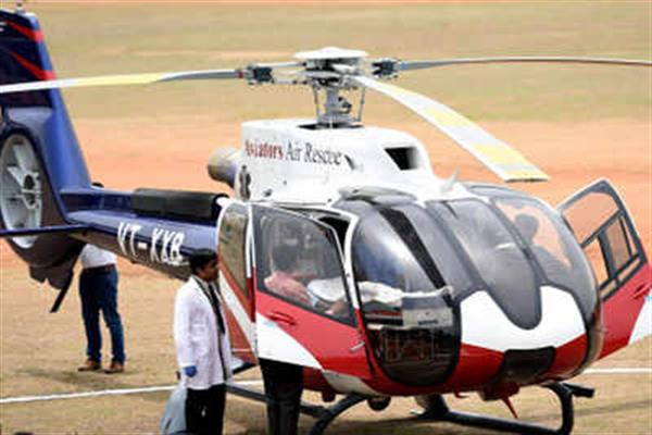 Lack of air ambulance in Kashmir costing lives: DAK