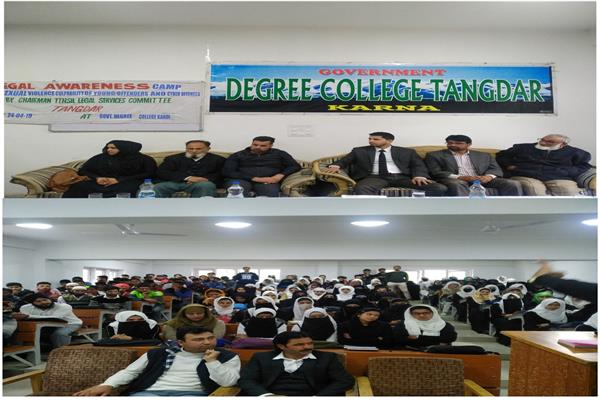 Awareness programme on sexual violence conducted in Degree College Tangdarh